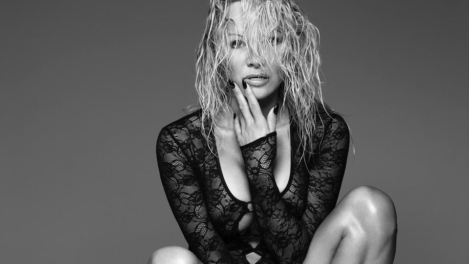 Pamela Anderson shot by Rankin for Coco de Mer