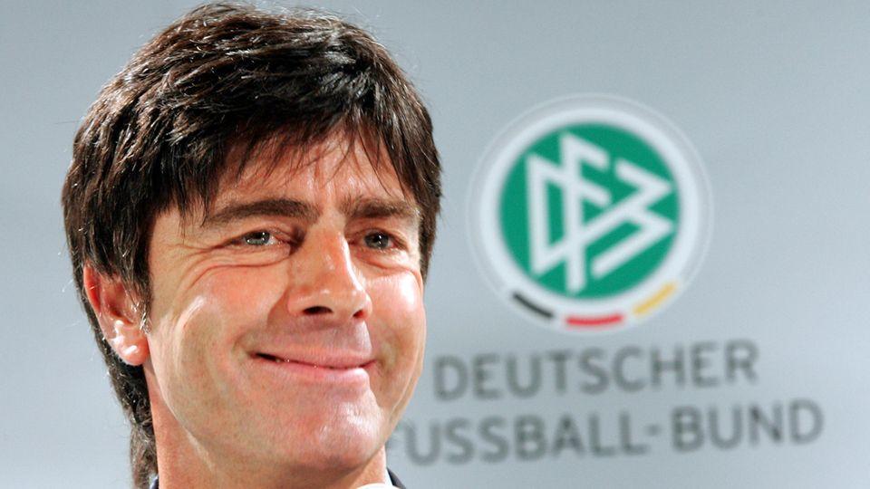 Lang ist's her: 2006 übernahm Joachim Löw das Amt desBundestrainers von Jürgen Klinsmann