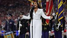 Demi Lovato singt Nationalhymne beim Super Bowl