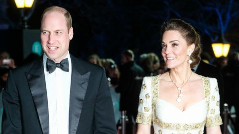 Baftas: Prinz William Herzogin Kate