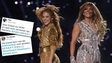 Superbowl-Halbzeitshow: So reagiert das Netz auf Shakira und J-Lo