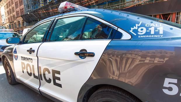 Polizeiwagen in Toronto, einer Metropole mit 2,7 Millionen Einwohnern
