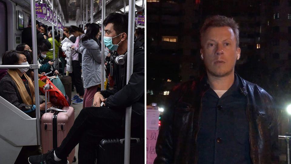 Philipp Mattheis, stern-Korrespondent China, spricht über das Coronavirus