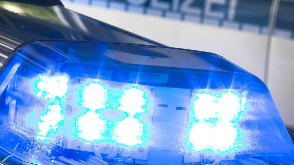 Blaulicht der Polizei (Archivfoto)