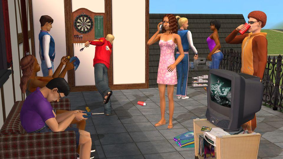Sims Geburtstag Kult