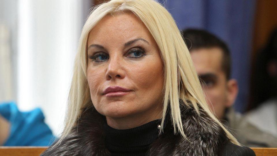Tatjana Gsell bei einem Gerichtstermin