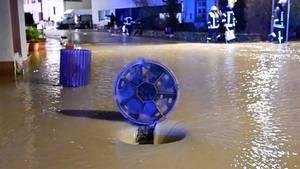 News im Video: Dauerregen im Südwesten – Dorf Aach bei Trier überschwemmt