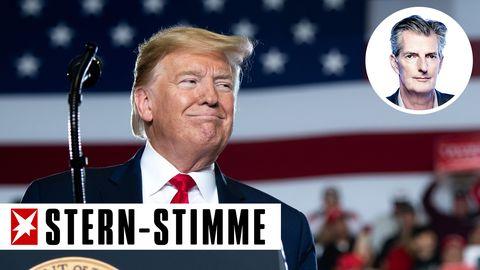 Stern-Stimme Andreas Petzold über Trump nach dem Ende des Impeachments