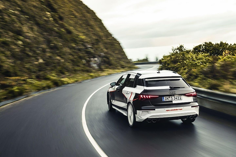 Audi S3 2020 Prototyp