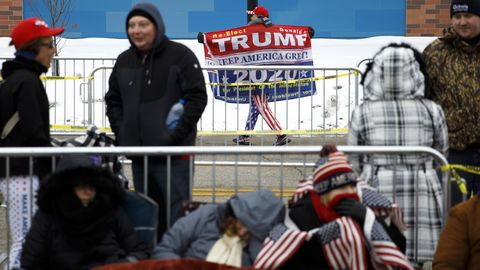 Iowa Wahlkampf Donald Trump