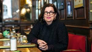 Andrea Maria Schenkel, 57, kürzlich in einem Restaurant in Regensburg