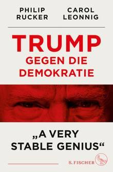 Cover A very stabke genius Donald Trump