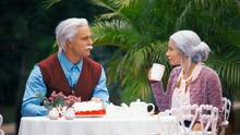 Bachelor Sebastian Preuss und Kandidatin Diana bei ihrem Date