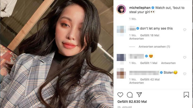 Ein Screenshot eines Selfies von Michelle Phan