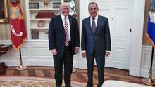 Donald Trump und Lawrow im Weißen Haus