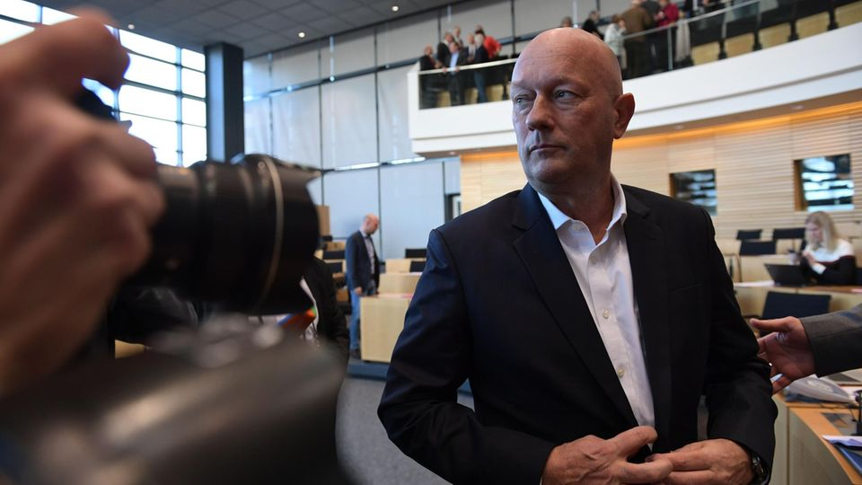 Thomas Kemmerich (FDP), neuer Ministerpräsident in Thüringen