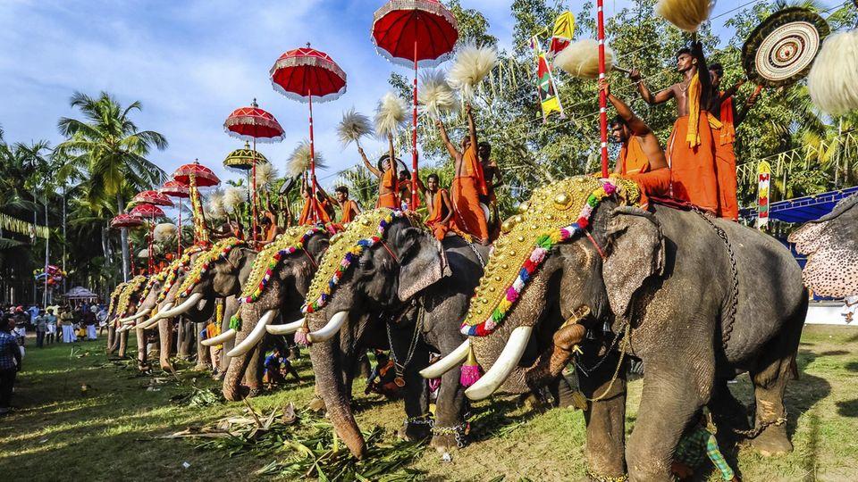 Trichur in Kerala, Indien
