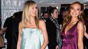 Heidi Klum und GNTM-Kandidatin Jacky bei der amfAR-Gala in New York
