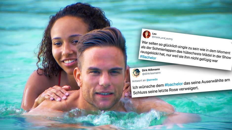 Kritik an Bachelor Sebastian Preuss: Die Kandidatin Linda verweigert Kuss – und fliegt aus der Show.