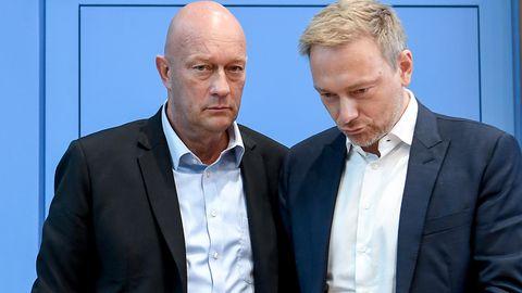 Thomas Kemmerich und Christian Lindner