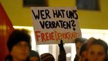 Proteste gegen die FDP
