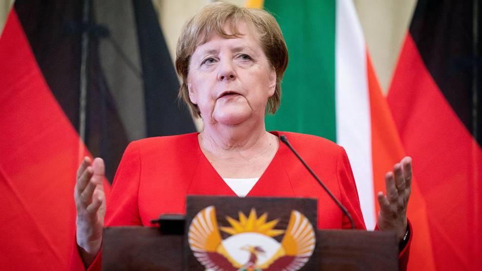 Angela Merkel: Keine CDU-Regierung mit Kemmerich in Thüringen