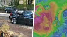 Wetter in Deutschland - Sturmwarnung