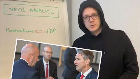 Thüringen: Nico Semsrott analysiert FDP-AfD-Kooperation
