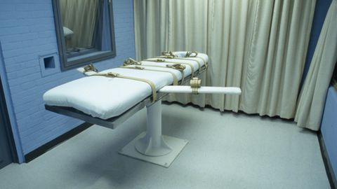 Ein Hinrichtungsraum in Gefängnis von Huntsville, Texas. In den USAfanden in diesem Jahrbereits drei Hinrichtungen statt.