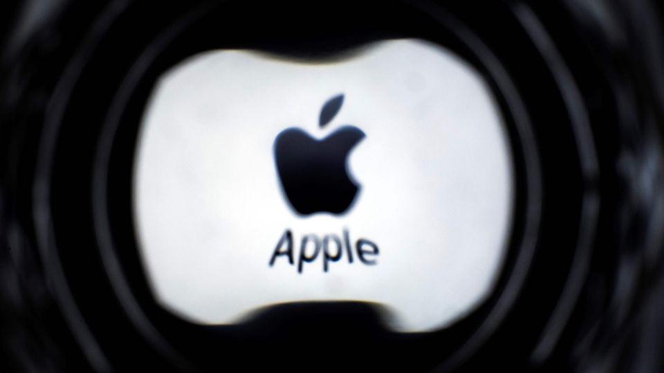 Ein Apple-Logo