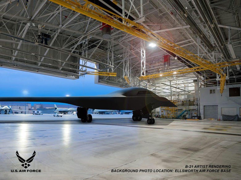 Die Renderings zeigen die Jet immer im gleichen Blickwinkel. Das Comutermodel wurde lediglich in verschiedenen Hangars platziert.