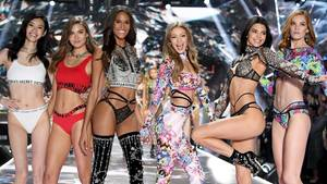Models bei der Victoria's Secret Show 2018 in New York