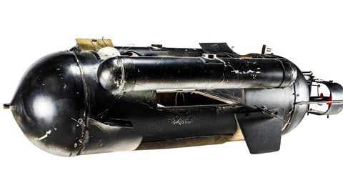 Dagoberts selbstgebautes U-Boot