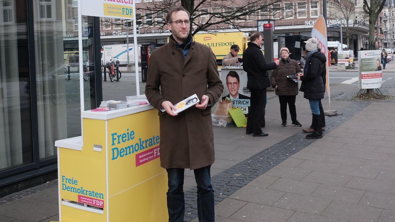Der stellvertretende FDP-Landesvorsitzende Ron Schumacher