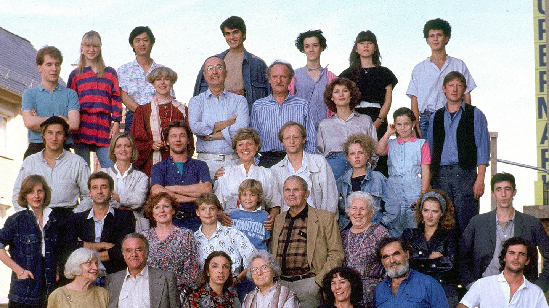 Die Darsteller der Lindenstraße von 1985