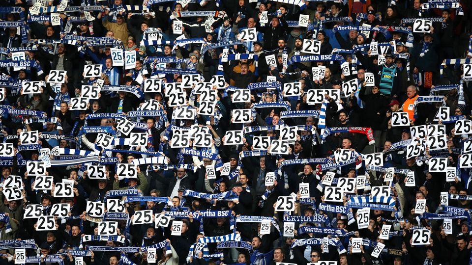 Hertha-Fans