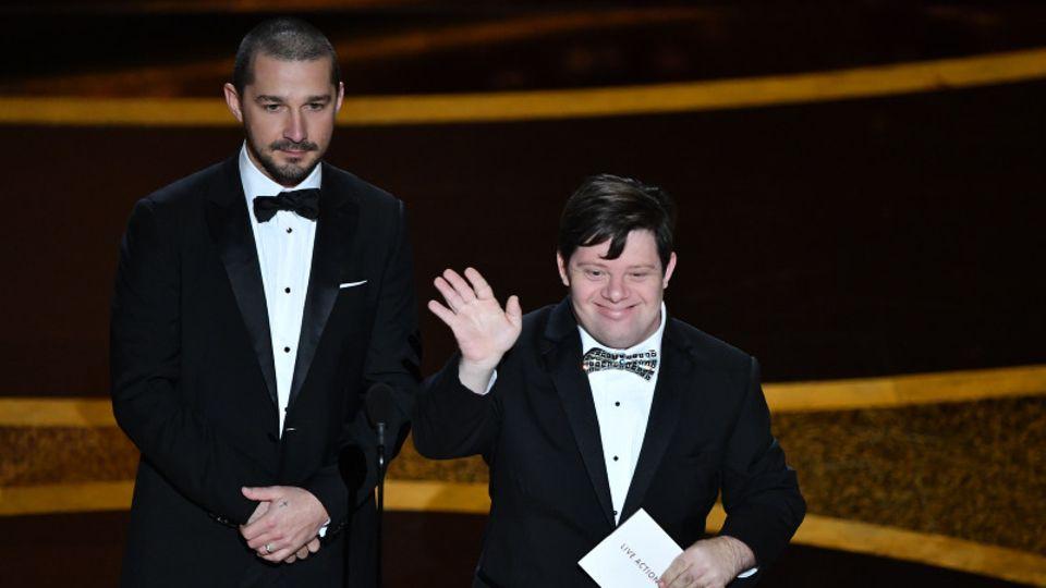 Oscars 2020 Shia LaBeouf und Zack Gottsagen