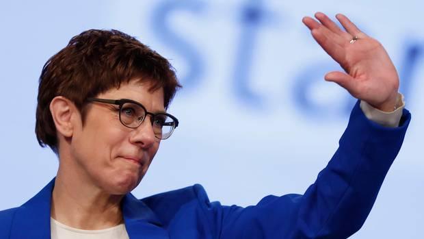 CDU Annegret Kramp-Karrenbauer