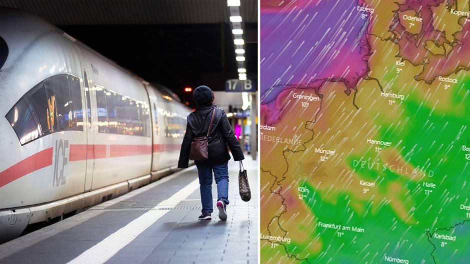 News im Video: Sturmtief Sabine wirbelt Reisepläne durcheinander