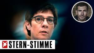 CDU-Chefin Annegret Kramp-Karrenbauer