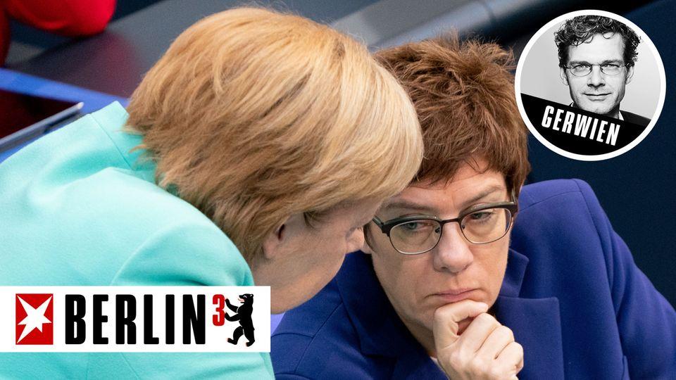 Merkel und Kramp-Karrenbauer