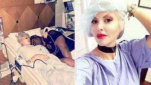 Sophia Vegas liegt wegen einem Bauchdeckenbruch im Krankenhaus