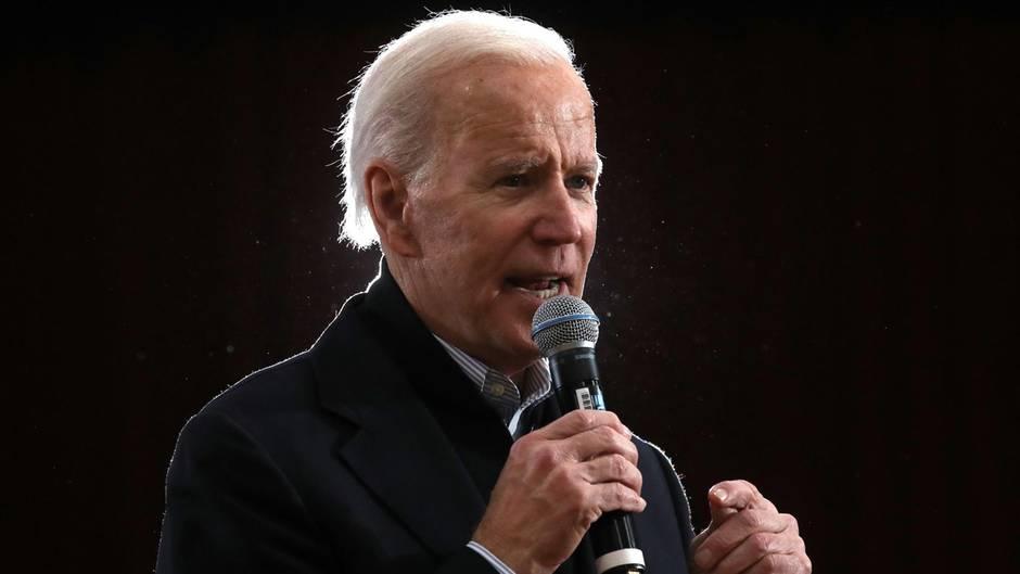 Joe Biden will US-Präsident werden