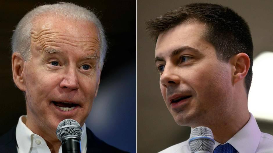 Joe Biden attackiert Pete Buttigieg in einem Wahlkampfvideo