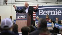 Bernie Sanders, Bewerber um die US-Präsidentschaft für die Demokraten