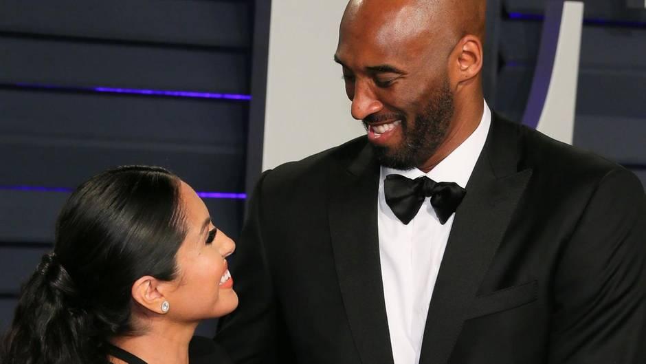 Vanessa und Kobe Bryant