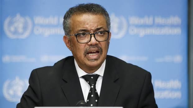 Tedros Adhanom Ghebreyesus, Generaldirektor der Weltgesundheitsorganisation (WHO)