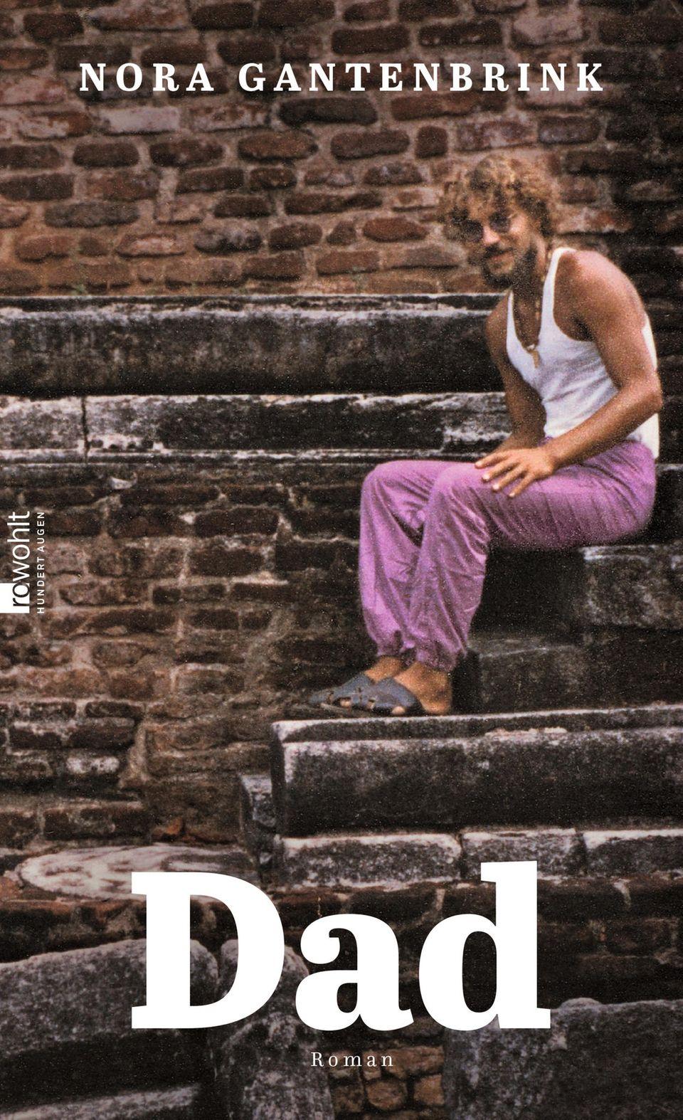 Cover mit einem Foto des Vater in Hippiekleidung
