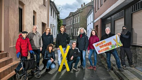 Widerstand in Keyenberg