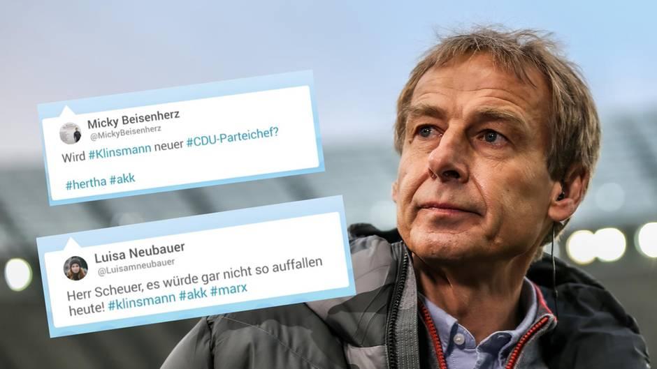 Klinsmann tritt als Hertha-Trainer zurück